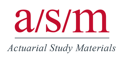 ASM Actuarial Study Materials